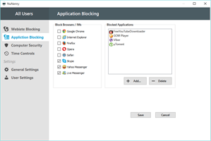 Application Blocking